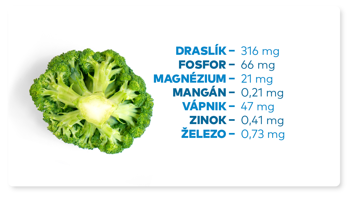 mineraly v brokolici